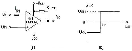 单限比较器电路图
