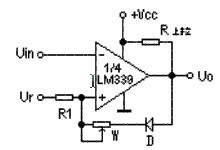 电压跳变点固定电路原理图