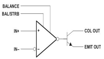 LM311构造表示图