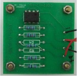 漏水传感器PCB实物图